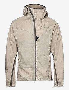 Ansur Hooded Wind Jacket M's - wandel- en regenjassen - dove raven