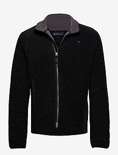 Skoll Zip M's - basic sweatshirts - charcoal