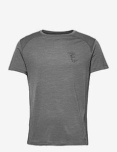 Eir Rain S/S Tee M's - t-shirts - grey melange
