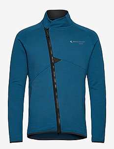 Falen Zip M's - basic sweatshirts - blue sapphire