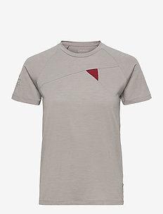 Fafne S/S Tee W's - t-shirty - grey melange