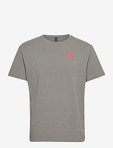 Runa Commitment SS Tee M's - t-shirts - granit grey