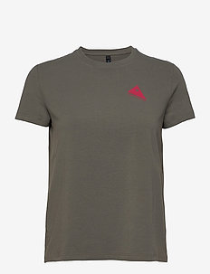 Runa Commitment SS Tee W's - t-shirts - granit grey