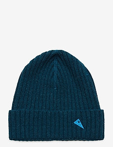 Barre Ribbed Cap - mössor - blue sapphire
