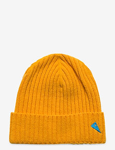 Barre Ribbed Cap - bonnet - sun yellow