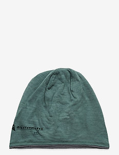 Eir Beanie - mössor - brush green-grey melange