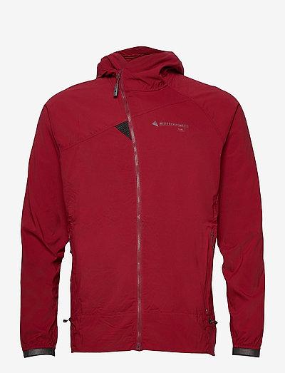 Nal Hooded Jacket M's - frilufts- og regnjakker - burnt russet