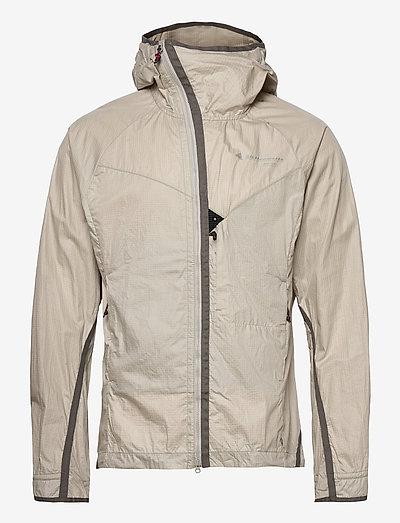 Ansur Hooded Wind Jacket M's - frilufts- og regnjakker - dove raven