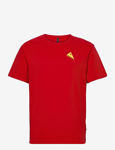 Runa Commitment SS Tee M's - kurzärmelig - true red