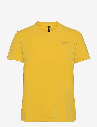 Runa Refined SS Tee W's - t-shirty - sulphur