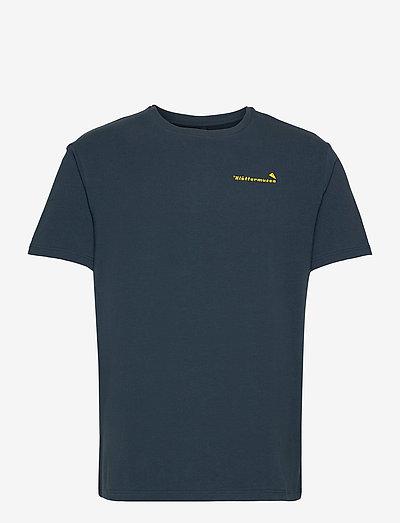 Runa Roadmap SS Tee M's - t-shirts à manches courtes - midnight blue