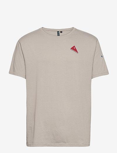 Verkstad 1990 SS Tee M's - t-shirts à manches courtes - flint grey