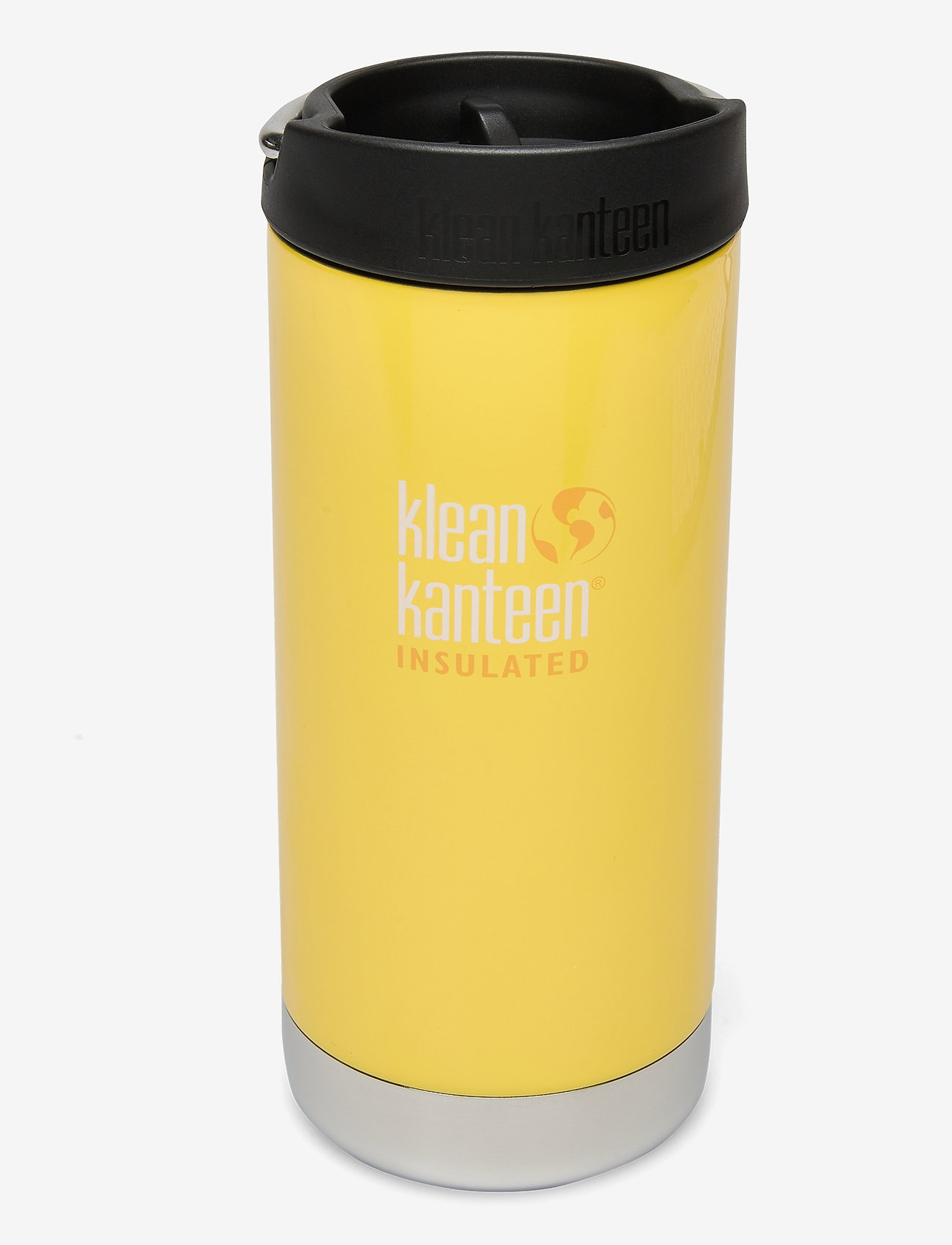 Klean Kanteen - Klean Kanteen TKWide 355ml Brushed Stainless - bouteilles et thermos - buttercup - 0
