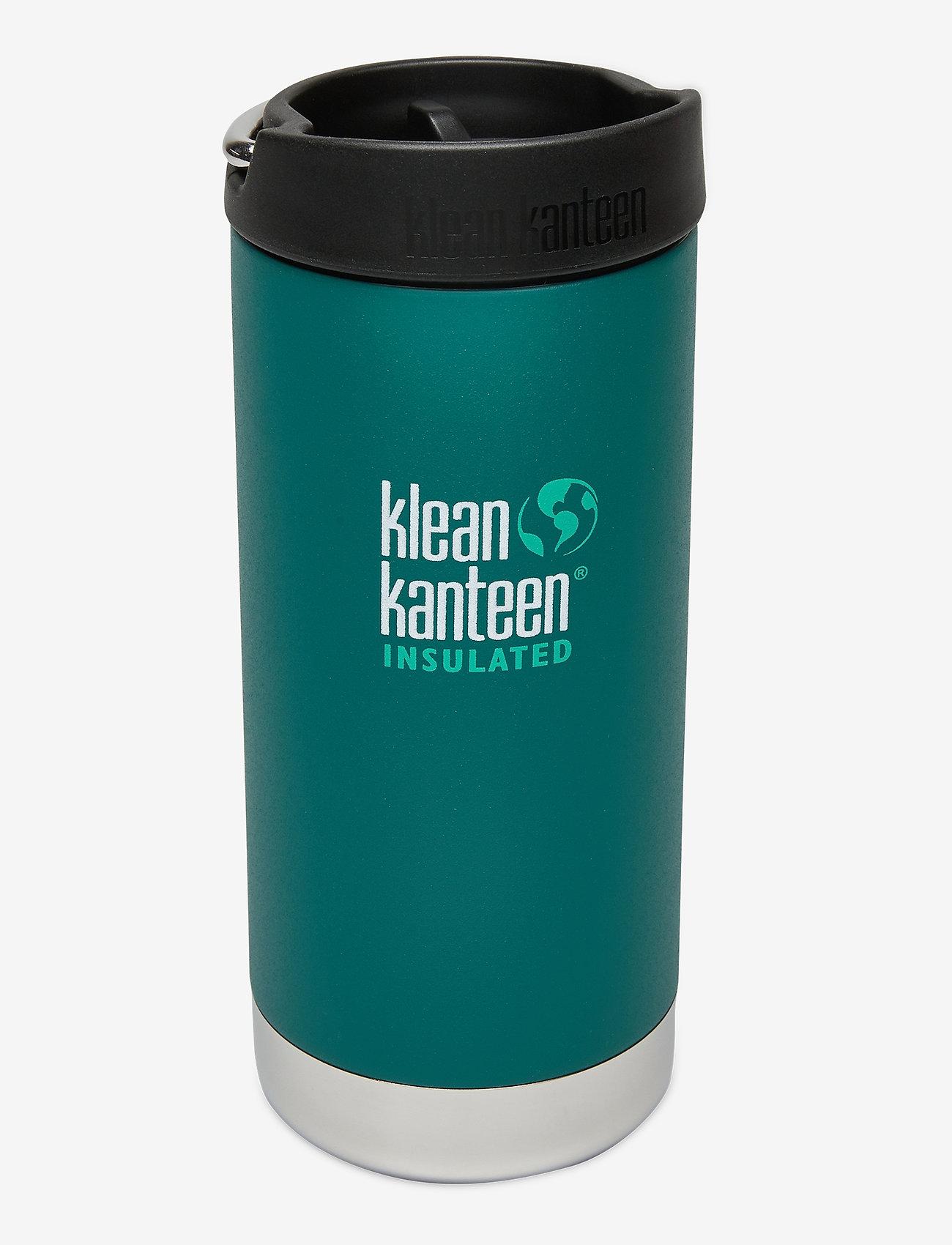 Klean Kanteen - Klean Kanteen TKWide 355ml Brushed Stainless - vannflasker og termoser - emerald bay - 0