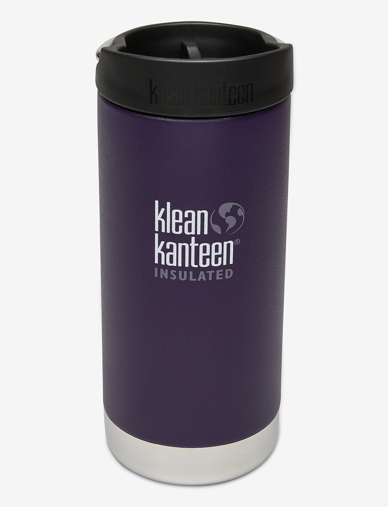 Klean Kanteen - Klean Kanteen TKWide 355ml Brushed Stainless - vannflasker og termoser - kalamata - 0