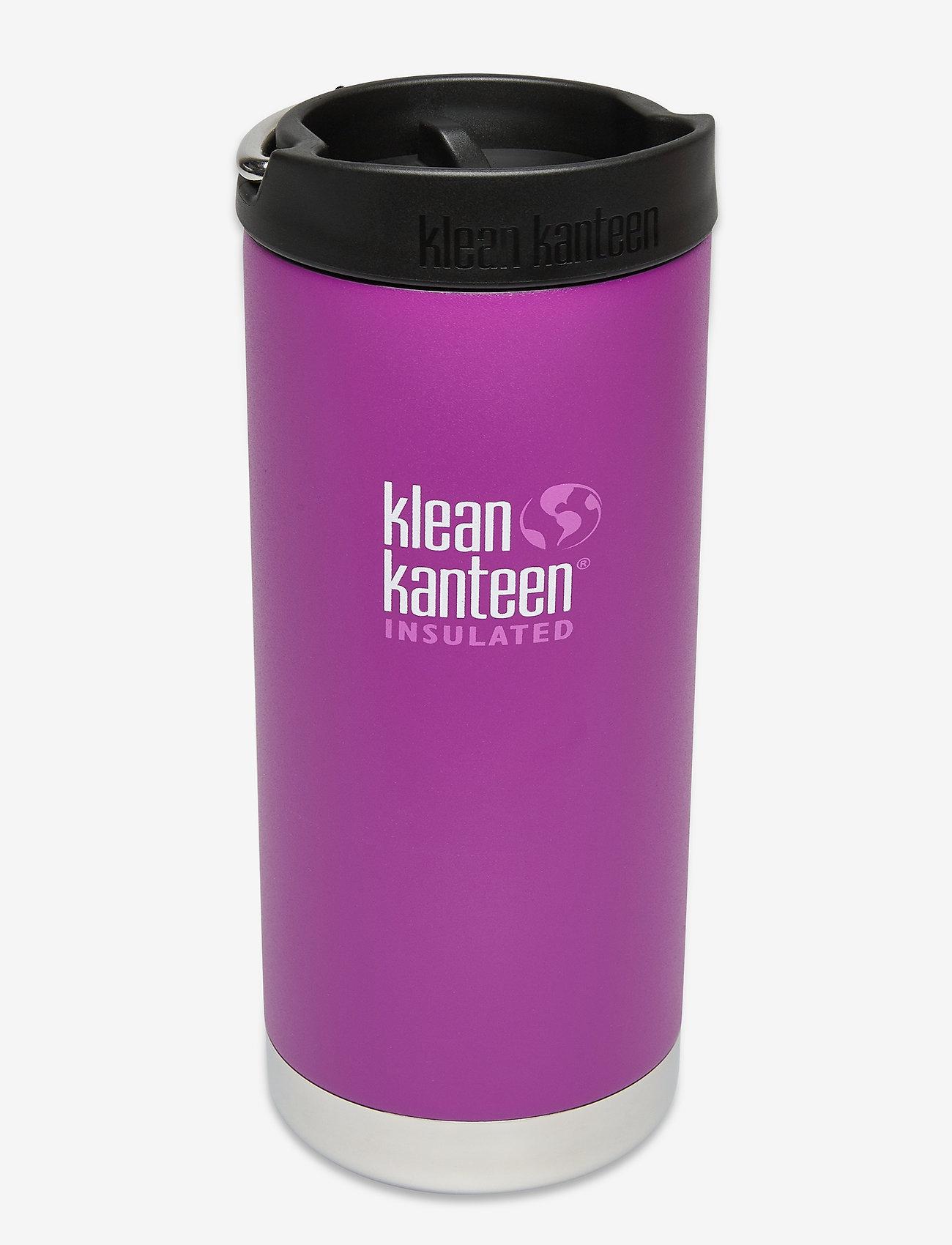 Klean Kanteen - Klean Kanteen TKWide 473ml Brushed Stainless - vannflasker og termoser - berry bright - 0