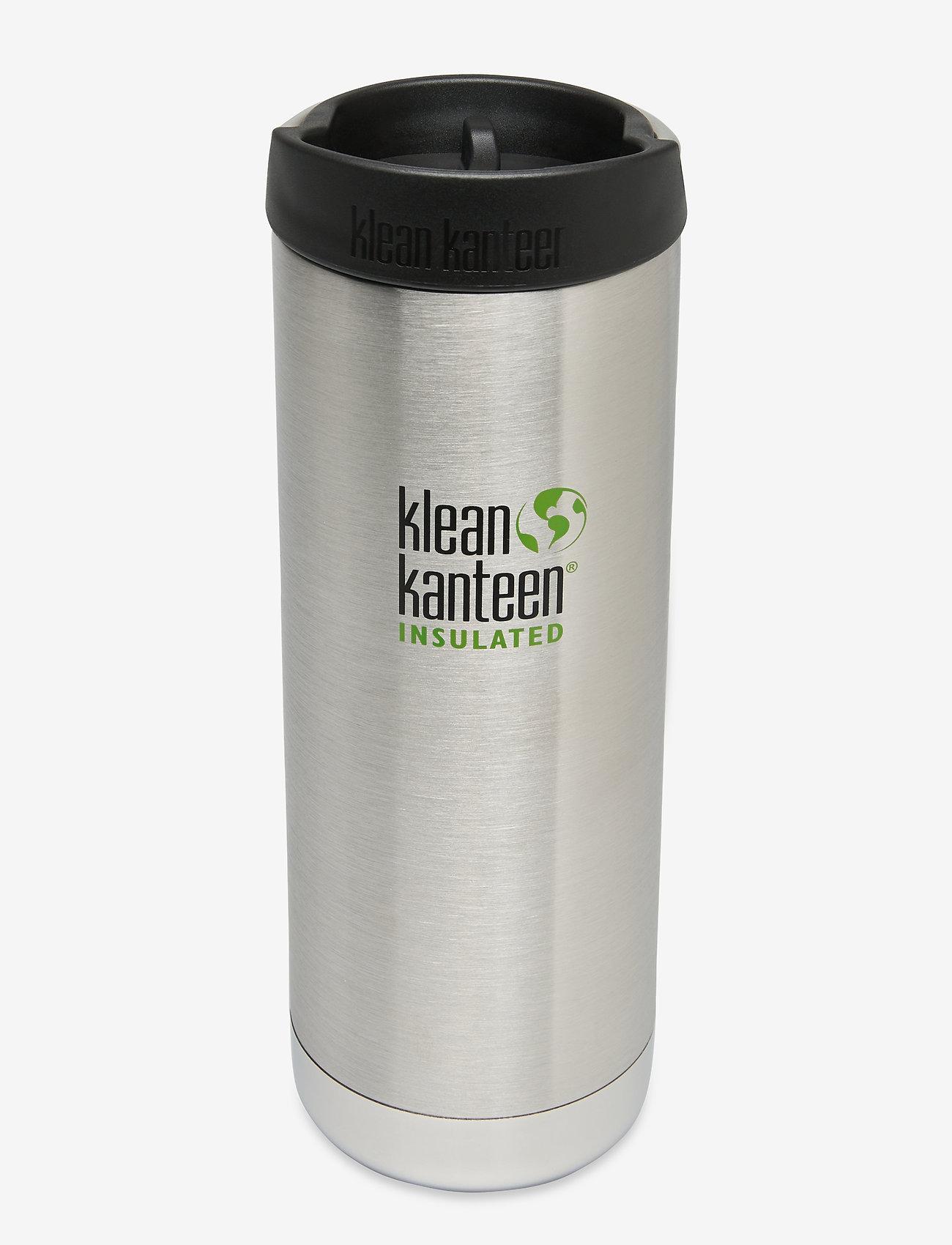 Klean Kanteen - Klean Kanteen TKWide 473ml Brushed Stainless - vannflasker og termoser - brushed stainless - 0