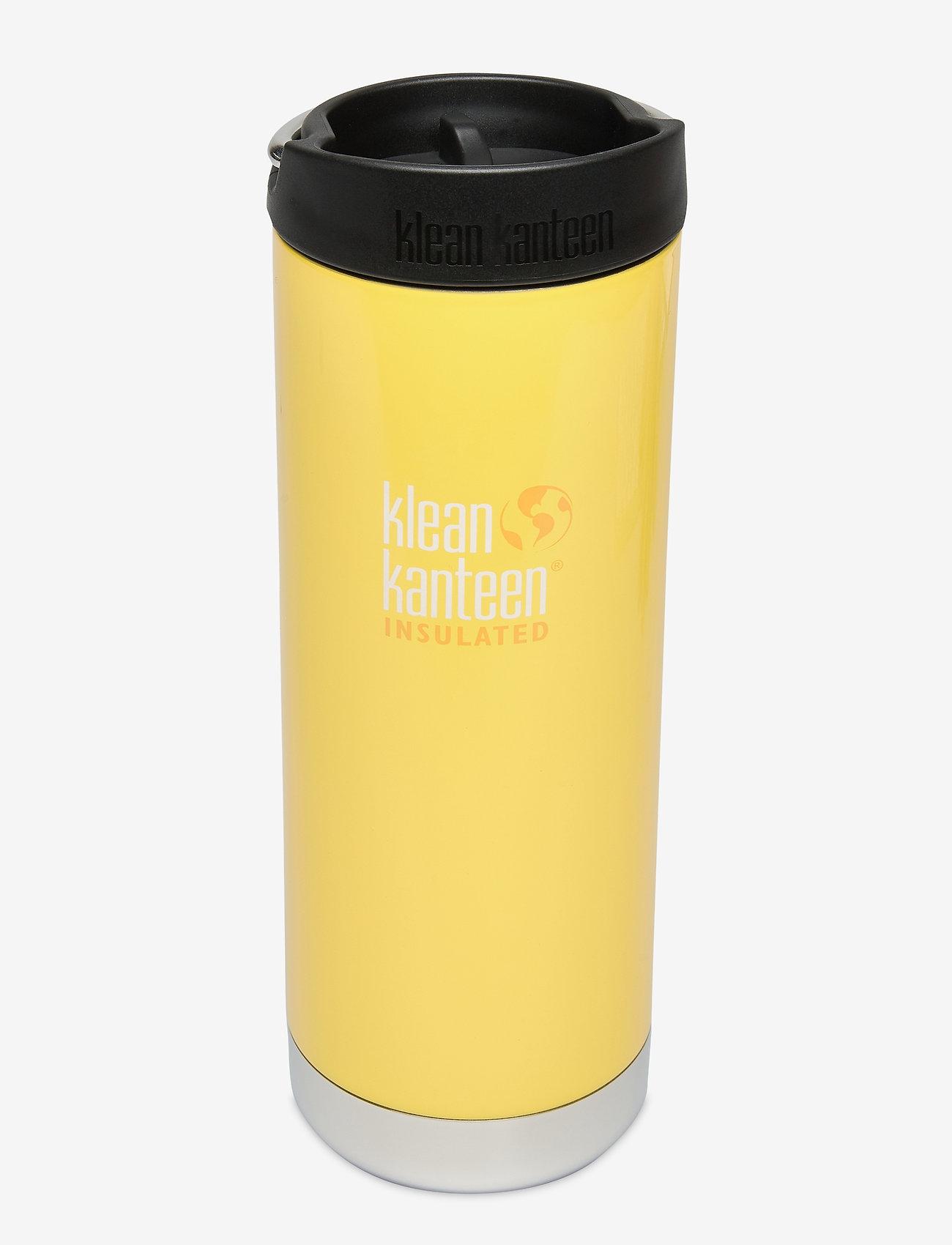 Klean Kanteen - Klean Kanteen TKWide 473ml Brushed Stainless - vannflasker og termoser - buttercup - 0