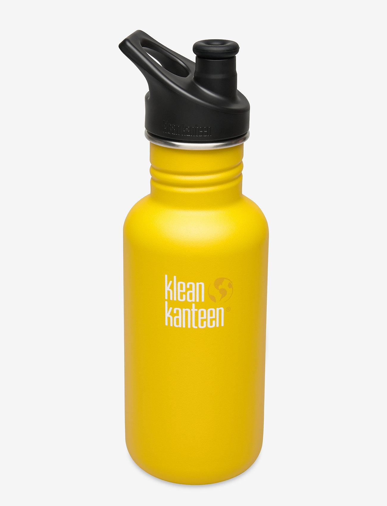 Klean Kanteen - Klean Kanteen Classic 532ml Brushed Stainless - lemon curry - 0