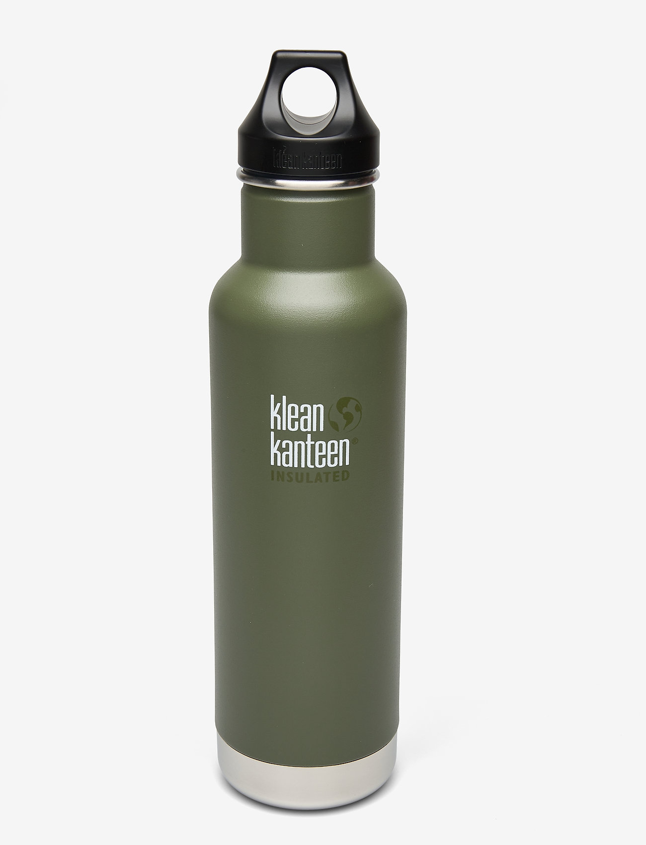 Klean Kanteen - Klean Kanteen Insulated Classic 592ml Brushed Stainless - vannflasker og termoser - fresh pine - 0