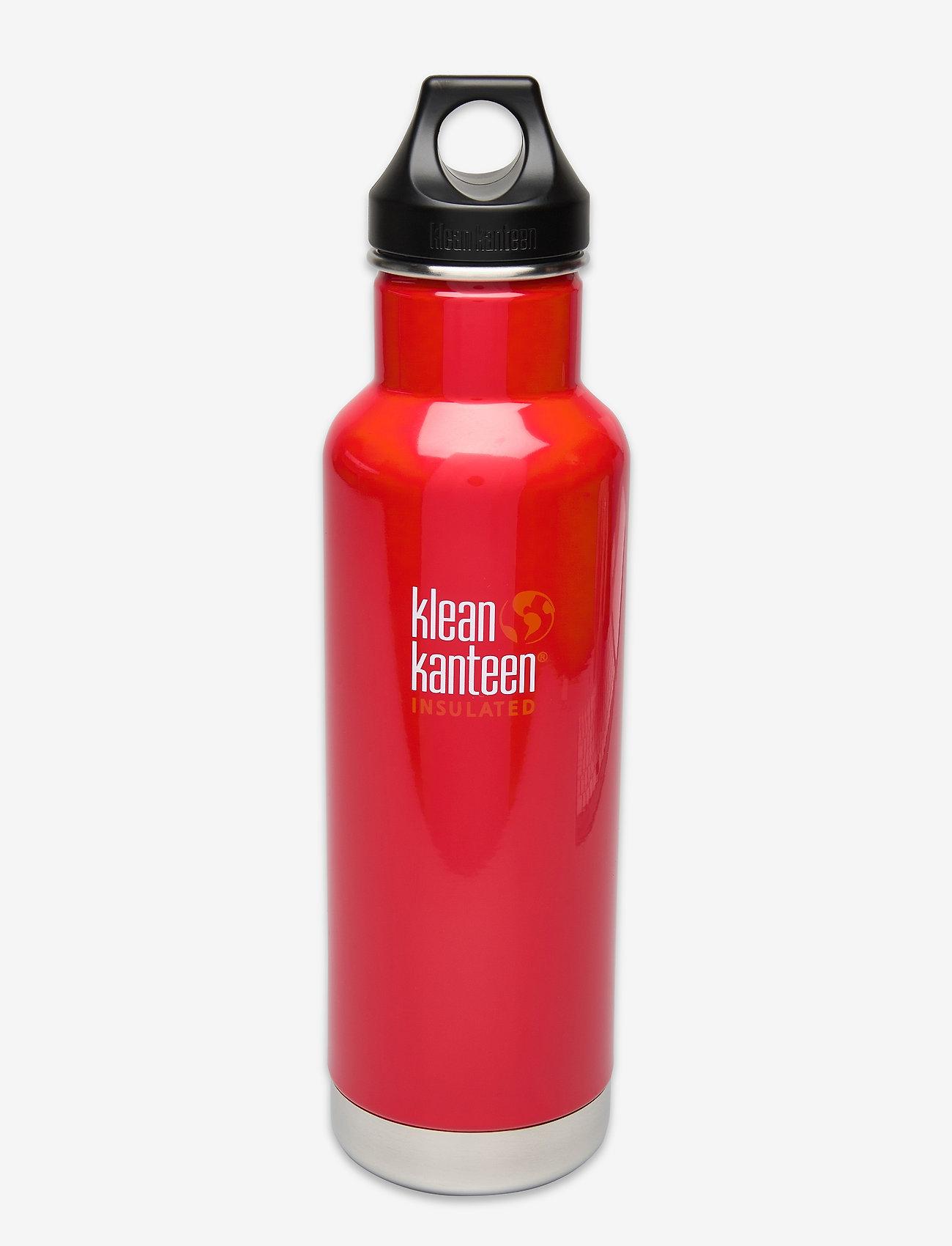 Klean Kanteen - Klean Kanteen Insulated Classic 592ml Lemon Curry - mineral red - 0