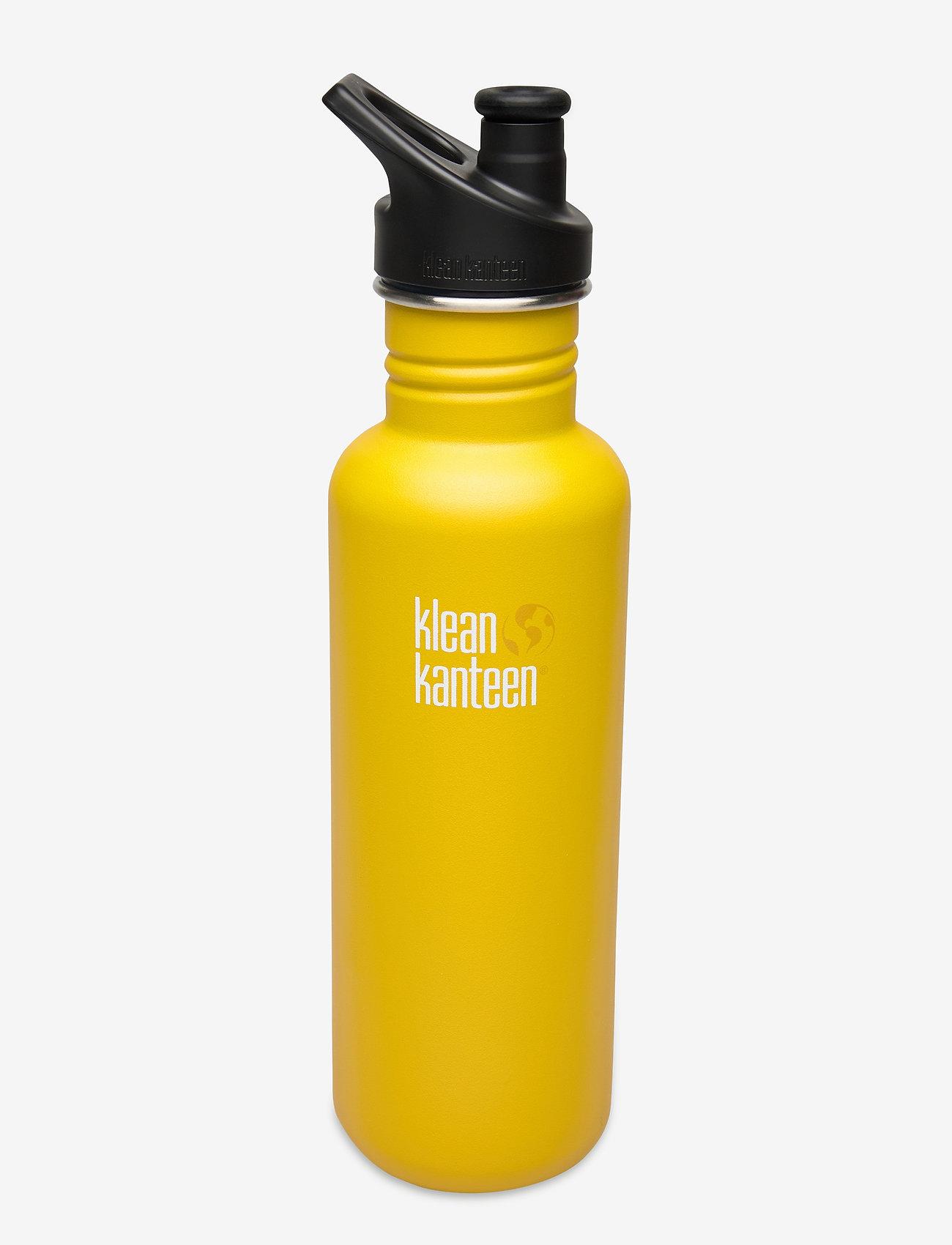 Klean Kanteen - Klean Kanteen Classic 800ml Brushed Stainless - lemon curry - 0