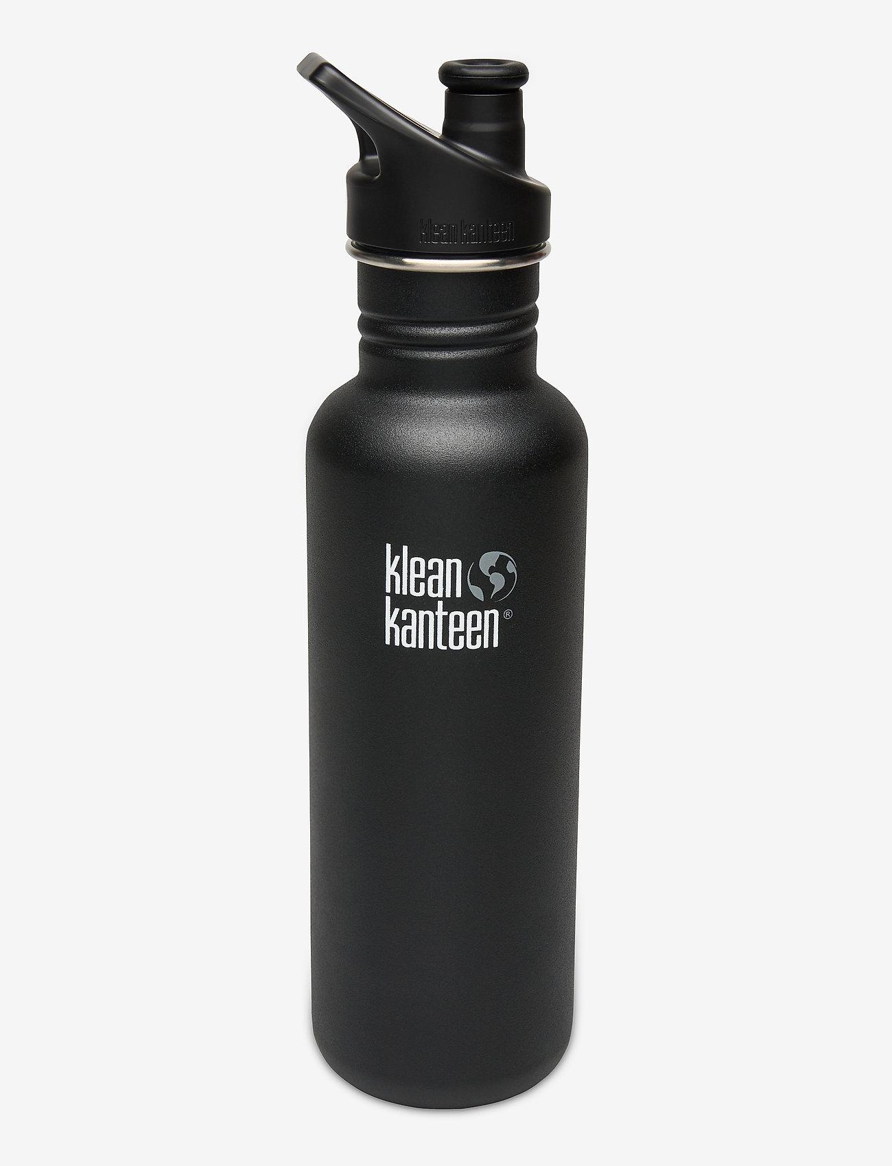 Klean Kanteen - Klean Kanteen Classic 800ml Brushed Stainless - vannflasker og termoser - shale black - 0