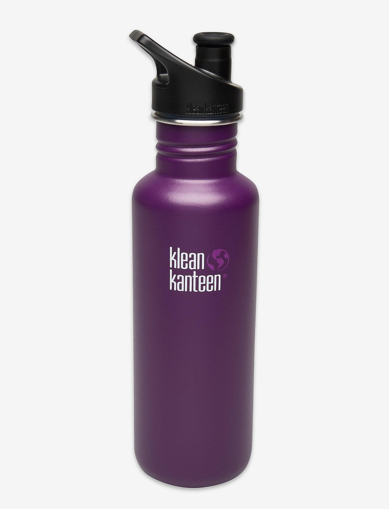 Klean Kanteen - Klean Kanteen Classic 800ml Brushed Stainless - accessories - winter plum - 0