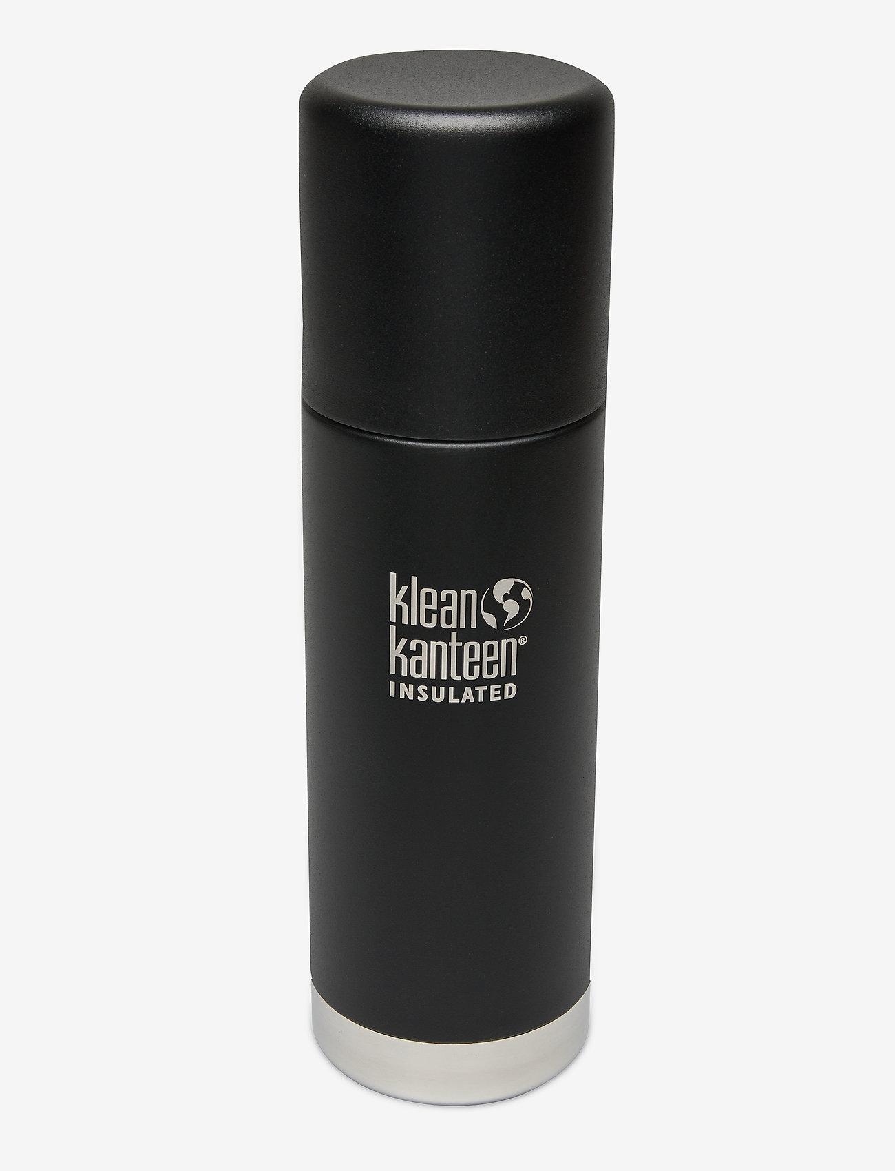 Klean Kanteen - Klean Kanteen TKPro 0.5L Brushed Stainless - butelki i termosy - shale black - 1