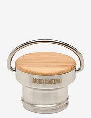 Klean Kanteen - Klean Kanteen Bamboo Cap Brushed Stainless - vesipullot & termospullot - brushed stainless - 0