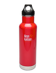 Klean Kanteen Insulated Classic 592ml Brushed Stainless - MINERAL RED