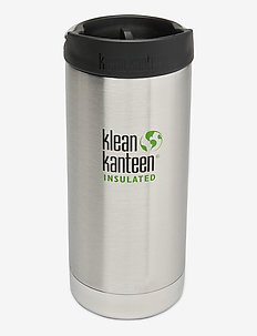 Klean Kanteen TKWide 355ml Brushed Stainless - water bottles & thermosflessen - brushed stainless