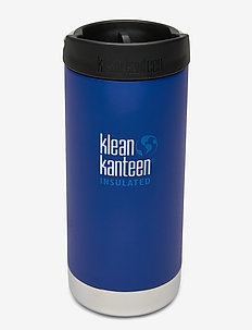 Klean Kanteen TKWide 355ml Brushed Stainless - butelki i termosy - deep surf