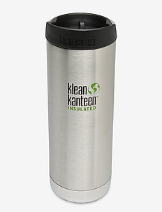 Klean Kanteen TKWide 473ml Brushed Stainless - water bottles & thermoses - brushed stainless
