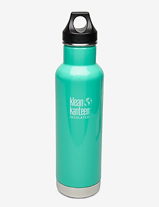 Klean Kanteen Insulated Classic 592ml Brushed Stainless - butelki i termosy - sea crest