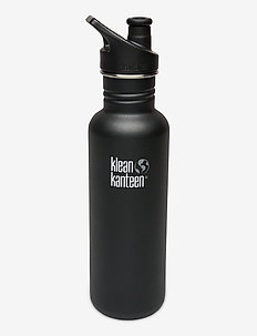 Klean Kanteen Classic 800ml Brushed Stainless - water bottles & thermoses - shale black