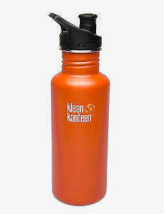 Klean Kanteen Classic 800ml Brushed Stainless - water bottles & thermosflessen - sierra sunset