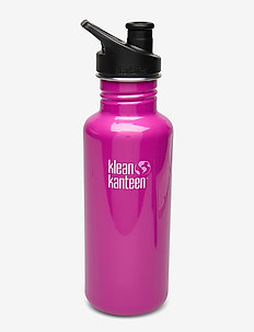 Klean Kanteen Classic 800ml Brushed Stainless - butelki i termosy - wild orchid