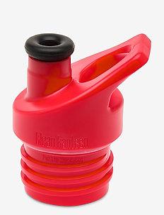 Klean Kanteen Sport Cap Black - bouteilles et thermos - red