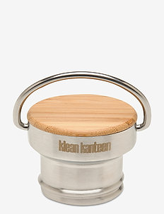 Klean Kanteen Bamboo Cap Brushed Stainless - water bottles & thermoses - brushed stainless