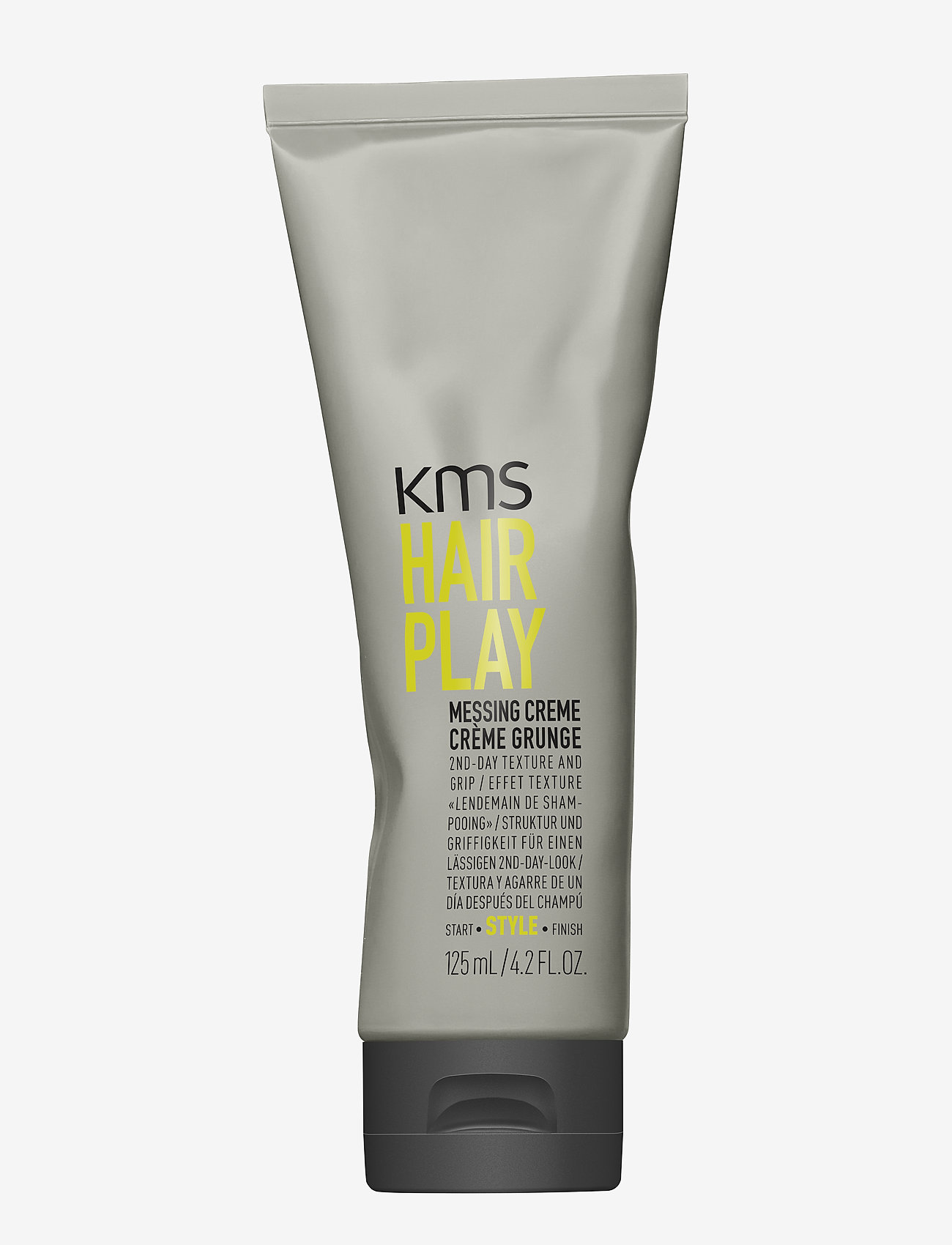 KMS Hair - Hair Play Messing Creme - muotoiluvoide - clear