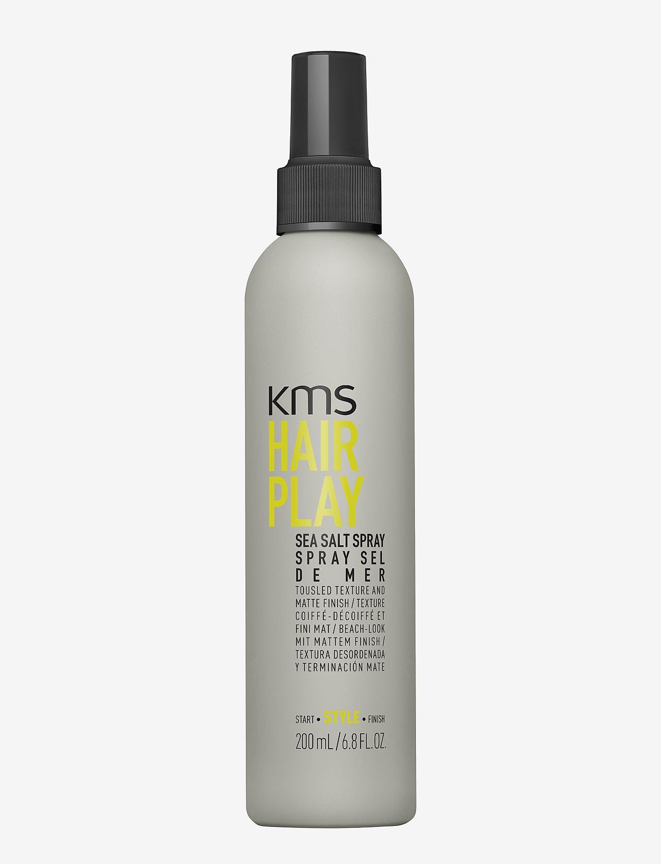 KMS Hair - Hair Play Sea Salt Spray - spray - clear - 0