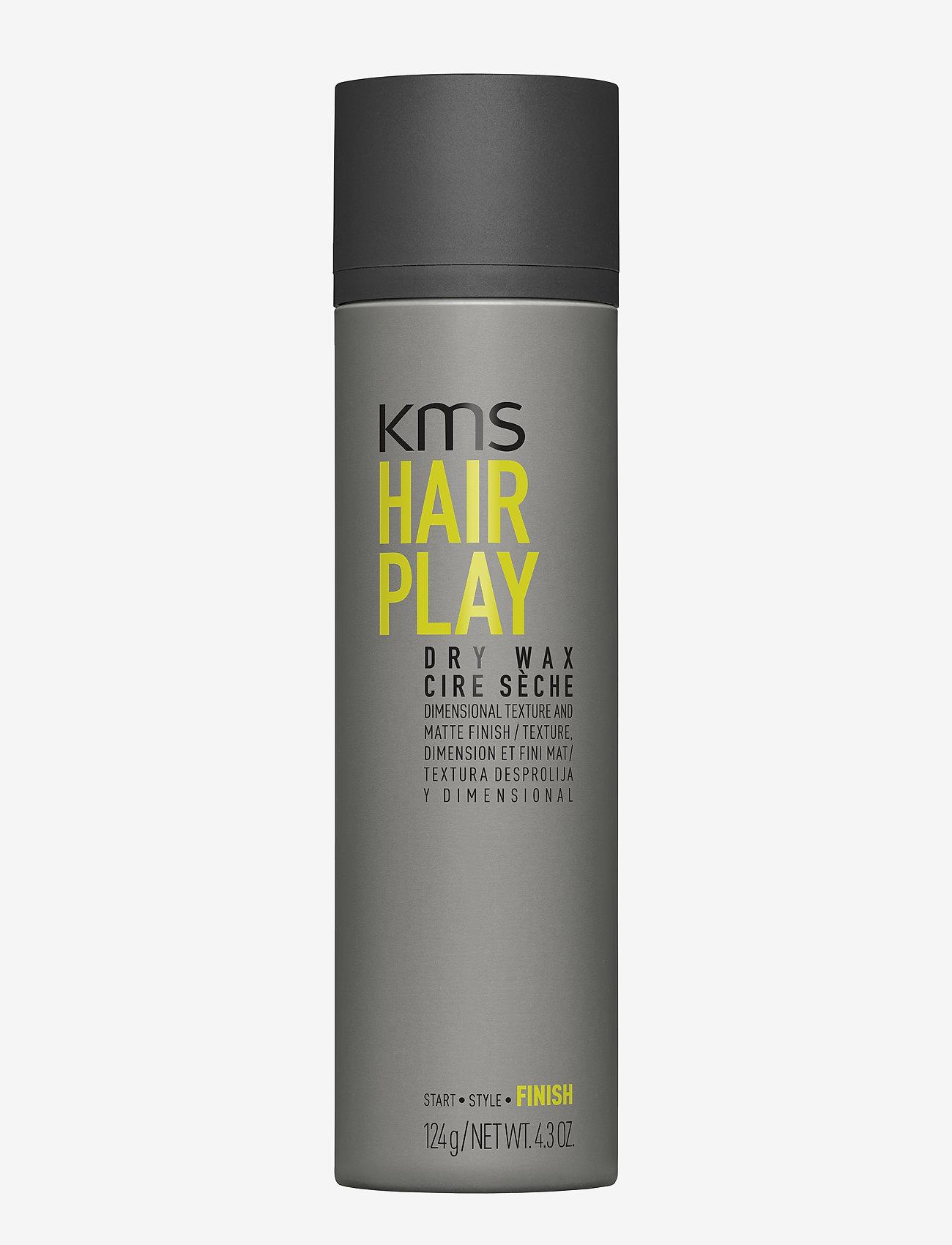 KMS Hair - Hair Play Dry Wax - wax - clear - 0