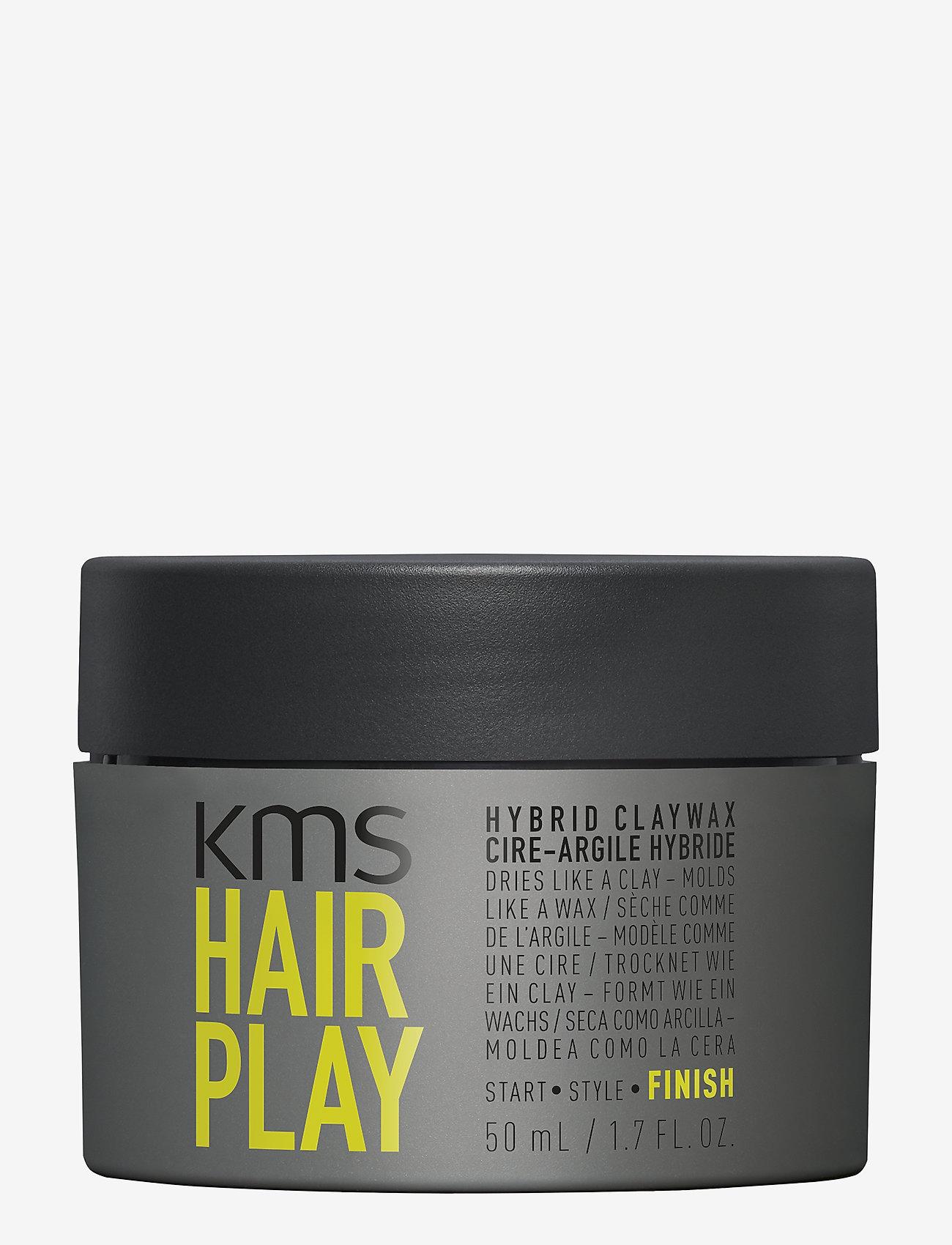 KMS Hair - Hair Play Hybrid Claywax - wax - clear