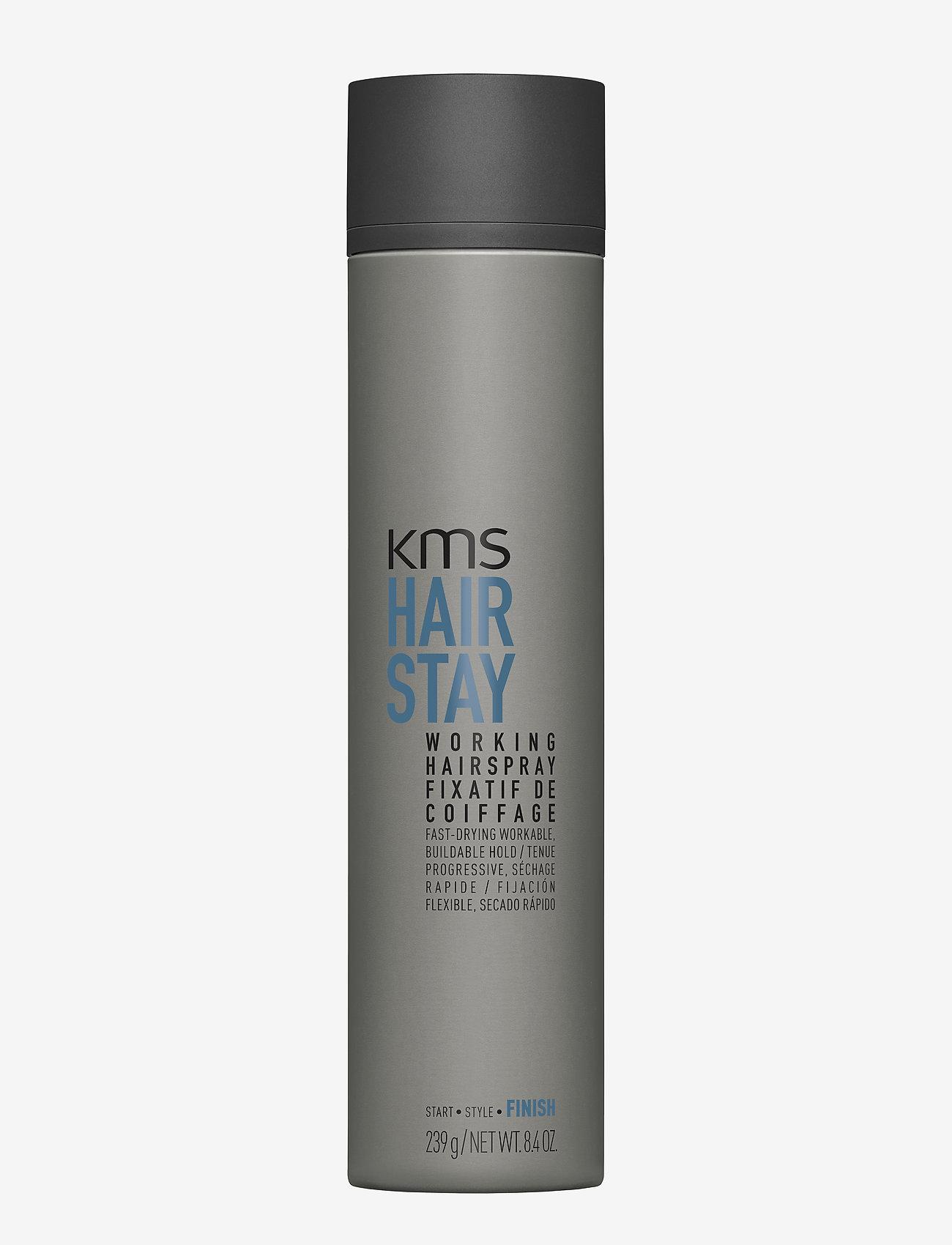KMS Hair - Hair Stay Working Spray - spray - clear - 0