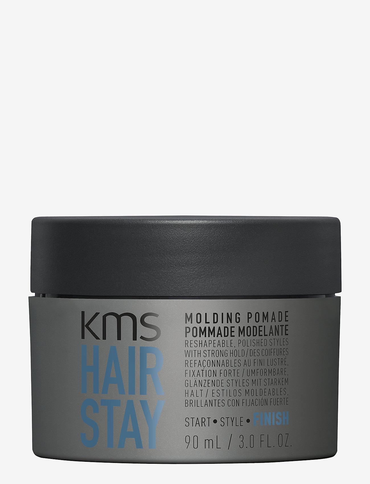 KMS Hair - Hair Stay Molding Pomade - pomade - clear - 0