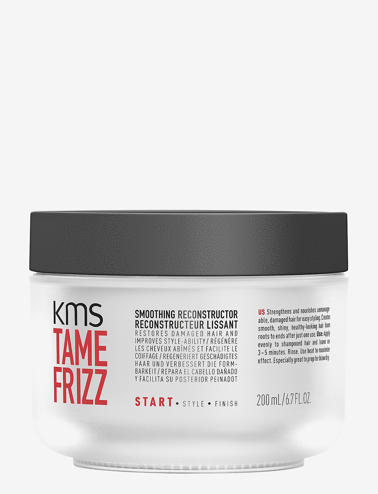 KMS Hair - Tame Frizz Smoothing Reconstructor - hoidot - clear