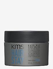 KMS Hair - Hair Stay Hard Wax - wax - clear - 0