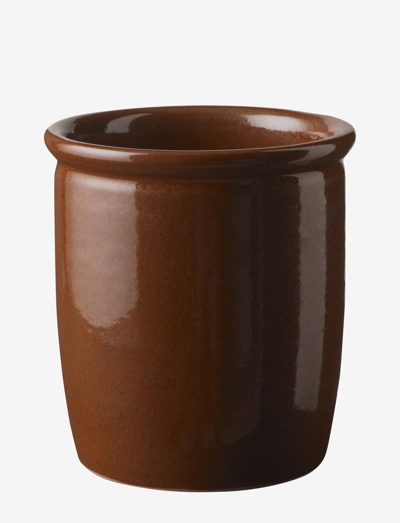 Knabstrup Keramik - Pickle jar - ruukut - brown - 1