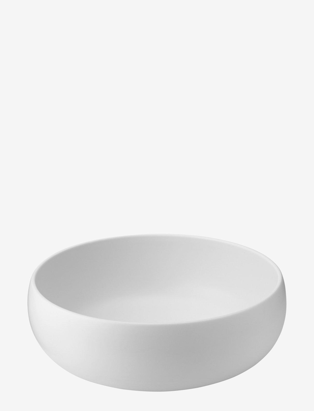 Knabstrup Keramik - Earth skål - salatboller - chalk white - 0